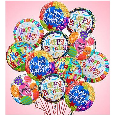 1 800 Flowers Air Arrangement Happy Birthday Balloons Spring